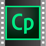 Captivate logo inside a film.